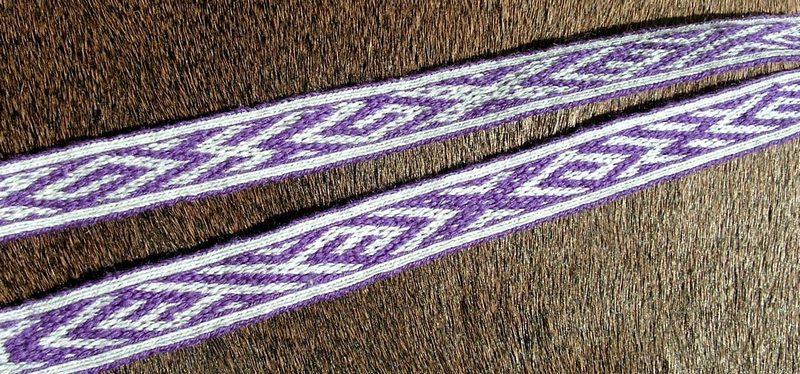 H 08, Birka, Szwecja, IX - Xw.  tablet weaving