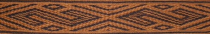 H 17, Trondheim, Norwegia, XIIw.  tablet weaving