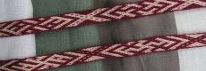 H 10, Birka, Szwecja, IX - Xw.  tablet weaving
