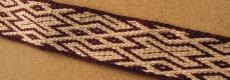 H 16, Gdańsk, Polska, XIw.  tablet weaving