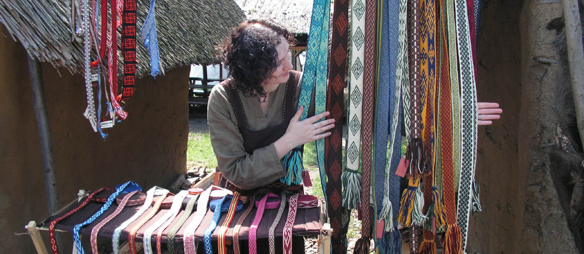krajki tablet weaving