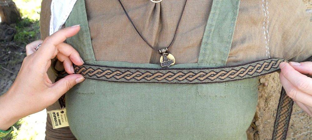Viking tablet woven trim
